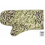 Willow Bough Green  oven mitt